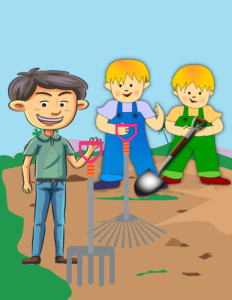 The Farmer and his Lazy Sons - Moral Stories for Kids - Liz Story Planet