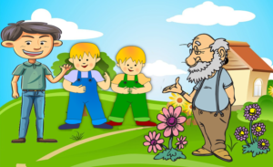 The Farmer and his Lazy Sons - Moral Stories for Kids - Liz